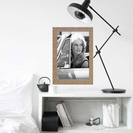 Poster Brigitte Bardot -Filmster poster - Zwart wit poster Filmster