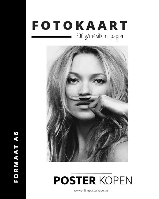 Fotokaart Life is a Joke - Kate Moss fotokaart-online posterkopen