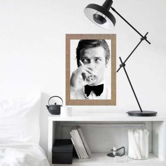 Poster James Bond -Filmster poster - Zwart wit poster Filmster