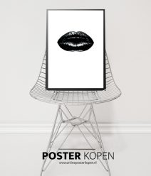 black lips - poster - fashion poster - voque poster - online poster kopen