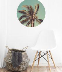Muurcikel- tuincirkel - Muurdecoratie - Cirkel aan de muur