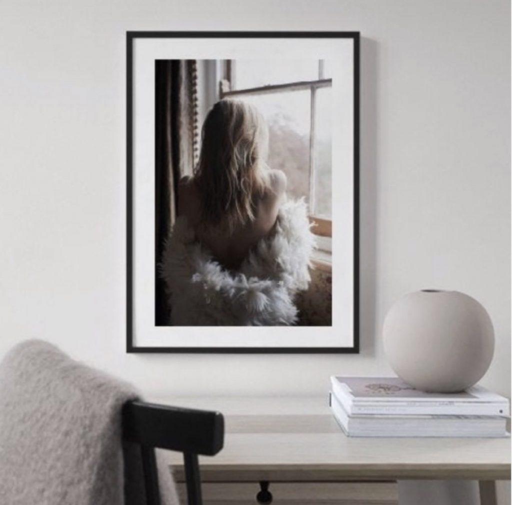 fashion-poster- meidenposter-zwart wit fotografie