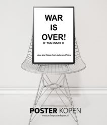 War is over poster- John lennon - Yoko Ono