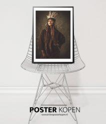 boho poster - indiaan poster- online poster kopen