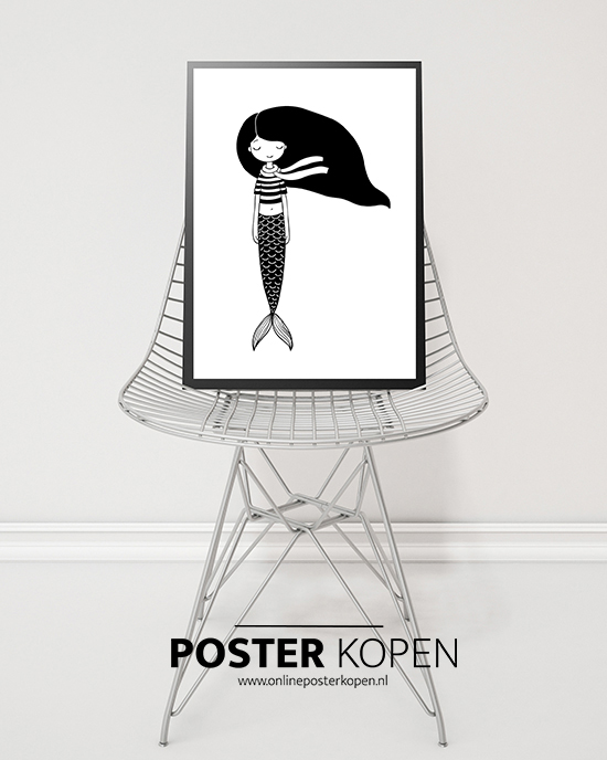 posters kinderkamer - zwart wit posters - kinderposters