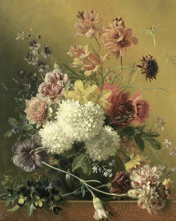 Bloemstilleven-van Rijksmuseum - van Georgius Jacobus Johannes van Os