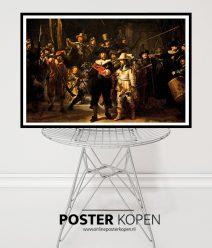 Poster de nachtwacht- Poster Rembrandt- Poster Rijksmuseum - Kunst poster - Reproductie